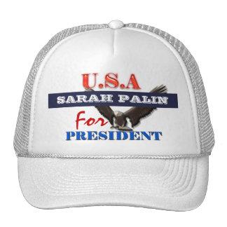 Presidente 2012 PERSONALIZAR de Sarah Palin Gorros