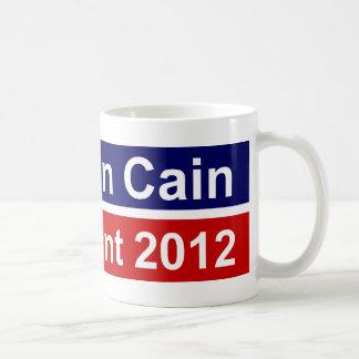Presidente 2012 taza de Herman Caín