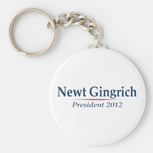 Presidente 2012 (v103) de Newt Gingrich Llaveros