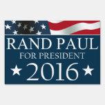 Presidente 2016 BANDERA americana de Paul del rand