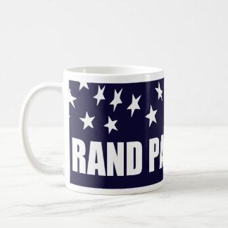 Presidente 2016 bandera americana de Paul del rand Taza