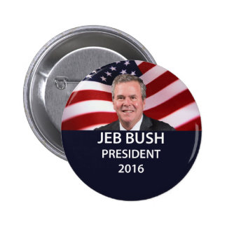 Presidente 2016 botón de Jeb Bush