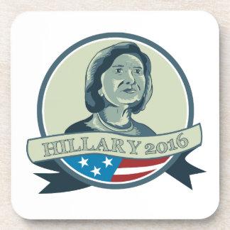 Presidente 2016 círculo de Hillary Clinton Posavaso