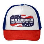 Presidente 2016 de Ben Carson Gorro