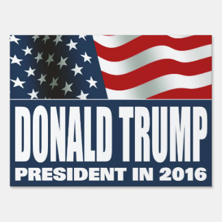 Presidente 2016 de Donald Trump Señales
