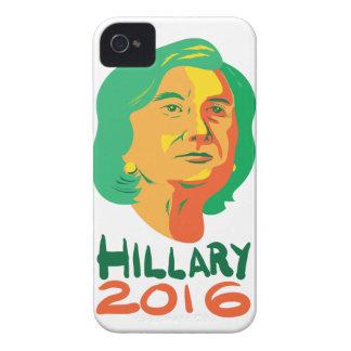 Presidente 2016 de Hillary Clinton iPhone 4 Case-Mate Cobertura