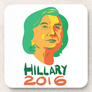 Presidente 2016 de Hillary Clinton Posavasos De Bebidas