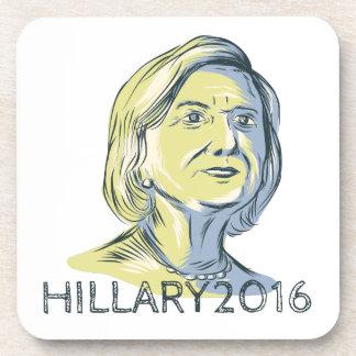 Presidente 2016 de Hillary Drawing Posavaso