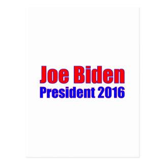 Presidente 2016 de Joe Biden Postal