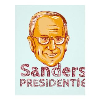 Presidente 2016 de las chorreadoras de Bernie Plantilla De Membrete