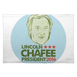 Presidente 2016 de Lincoln Chafee Manteles Individuales