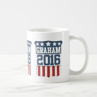 Presidente 2016 de Lindsey Graham Taza Básica Blanca