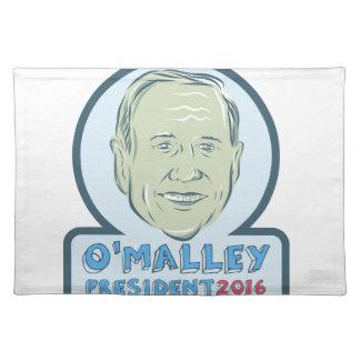 Presidente 2016 de Martin O'Malley Mantel Individual