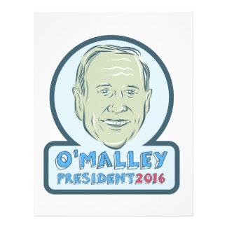 Presidente 2016 de Martin O'Malley Plantilla De Membrete