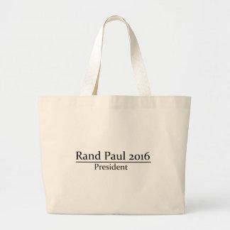Presidente 2016 de Paul del rand diseño simple Bolsas