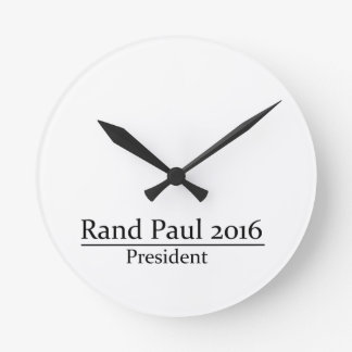 Presidente 2016 de Paul del rand diseño simple Relojes De Pared