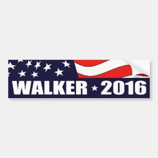Presidente 2016 del caminante de Scott Pegatina Para Auto