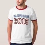 Presidente 2016 fuente atlética de Rick Santorum Playeras
