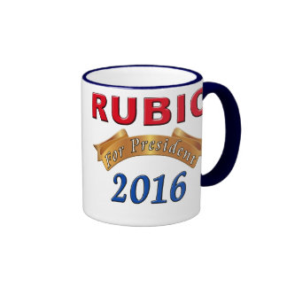 Presidente 2016 tazas políticas de Marco Rubio
