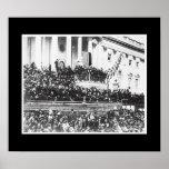 Presidente Abraham Lincoln 2do inaugural Posters