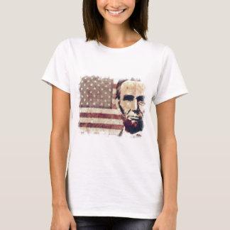 Presidente Abraham Lincoln del patriota Playera