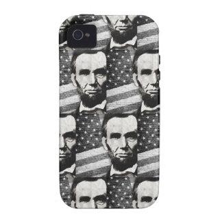 Presidente Abraham Lincoln iPhone 4 Carcasa