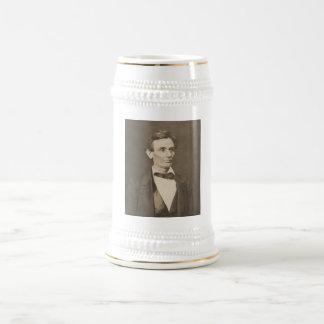 Presidente Abraham Lincoln -- Guerra civil Jarra De Cerveza