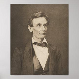 Presidente Abraham Lincoln -- Guerra civil Posters