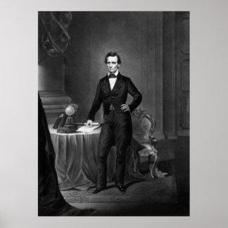 Presidente Abraham Lincoln Póster