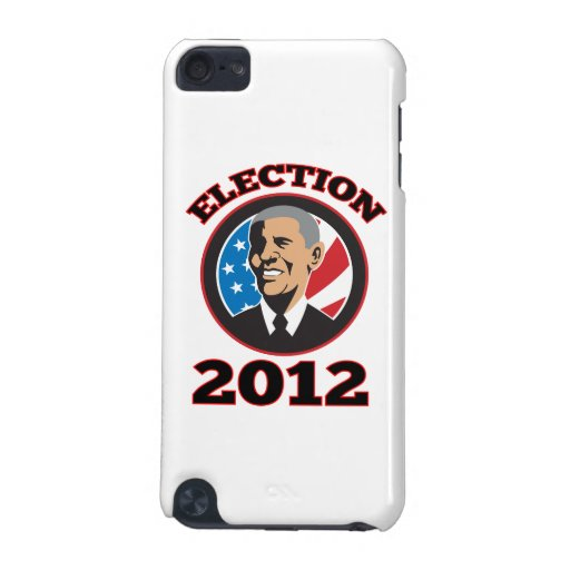 Presidente americano Barack Obama 2012 Funda Para iPod Touch 5G