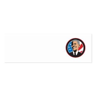 Presidente americano Barack Obama 2012 Tarjetas De Negocios