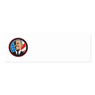 Presidente americano Barack Obama 2012 Tarjeta De Negocio