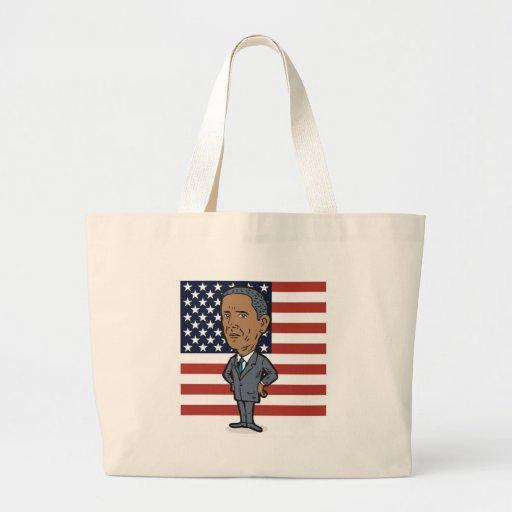 Presidente americano Barack Obama Bolsas De Mano