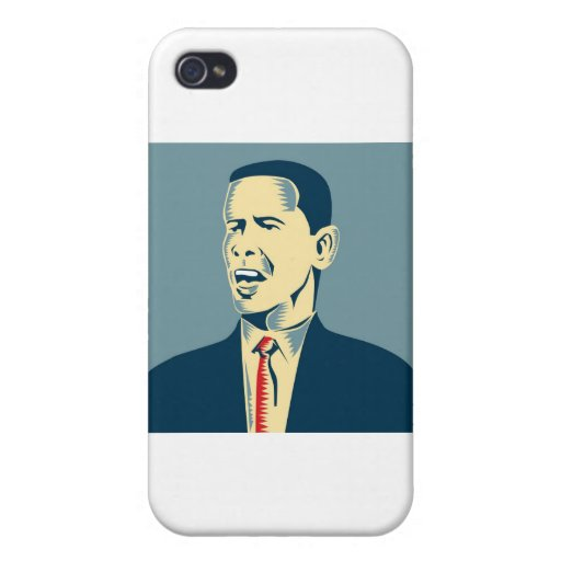 Presidente americano Barack Obama iPhone 4 Protector