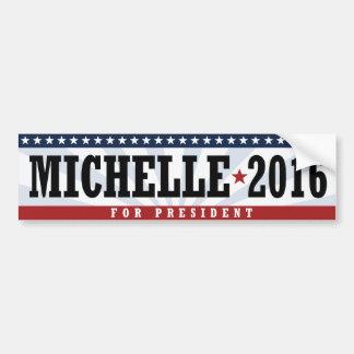 PRESIDENTE AMERICANO DE MICHELLE 2016 - .PNG PEGATINA PARA AUTO