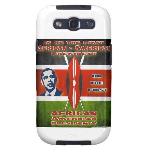 Presidente americano llevado africano samsung galaxy SIII funda
