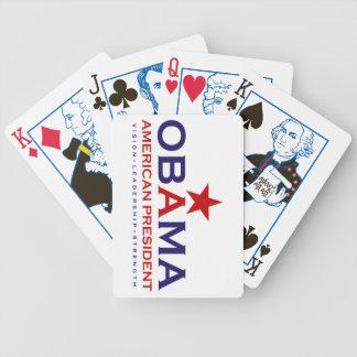 Presidente americano - Obama Baraja De Cartas