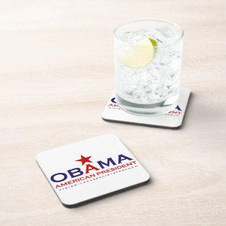 Presidente americano Obama Posavasos De Bebida