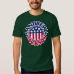 Presidente Andrew Jackson de los E.E.U.U. Camisas
