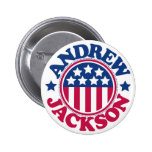 Presidente Andrew Jackson de los E.E.U.U. Pin