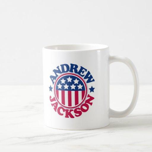 Presidente Andrew Jackson de los E.E.U.U. Tazas De Café