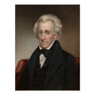Presidente Andrew Jackson Impresiones