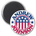 Presidente Andrew Johnson de los E.E.U.U. Iman De Nevera