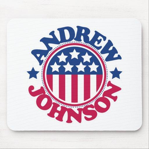 Presidente Andrew Johnson de los E.E.U.U. Alfombrilla De Raton