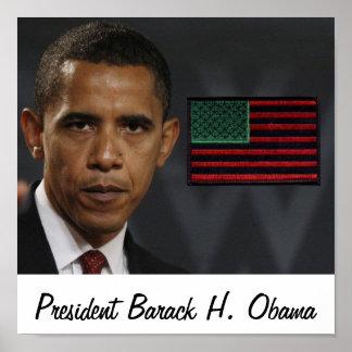 Presidente Barack H. Obama Poster