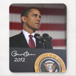 Presidente Barack Obama 2012 Alfombrillas De Raton