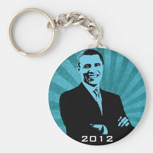 Presidente Barack Obama 2012 Llaveros Personalizados