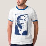 Presidente Barack Obama 44 camisetas del sello de