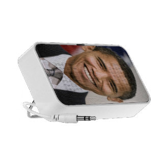 Presidente Barack Obama Portátil Altavoces