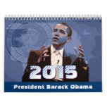 Presidente Barack Obama - calendario 2015